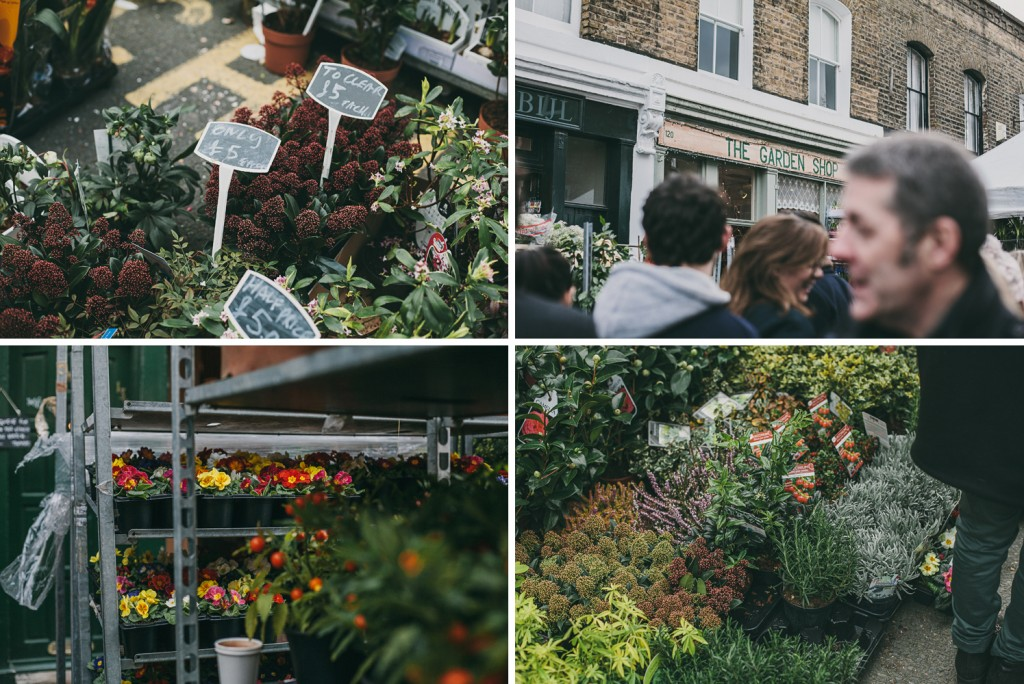 Columbia Rd Flower Market - London UK | On Flights + Feasts